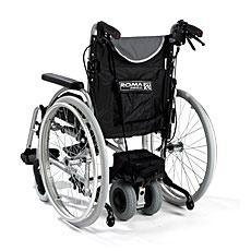 Rollstuhl Schiebehilfe